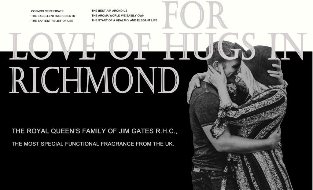 JIM GATES R.H.C. ROYAL QUEEN'S - Hugs in Richmond / リッチモンドの抱擁 1