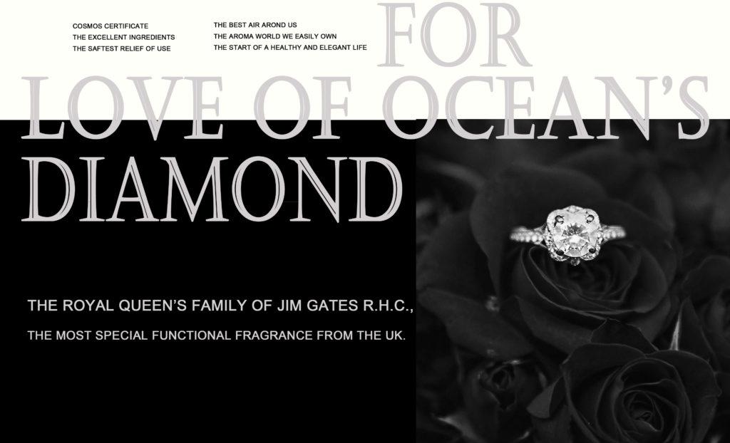 JIM GATES R.H.C. ROYAL QUEEN'S - Ocean's Diamond / ロイヤルクイーンズ オーシャンズ ダイヤモンド(30ml)