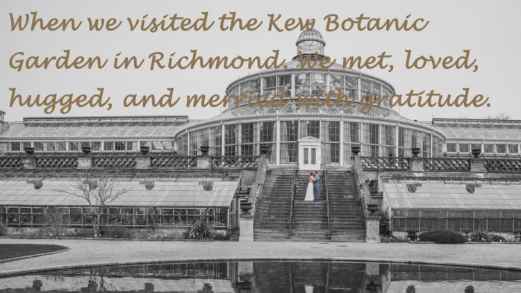 JIM GATES R.H.C. ROYAL QUEEN'S - Hugs in Richmond リッチモンドの抱擁 6